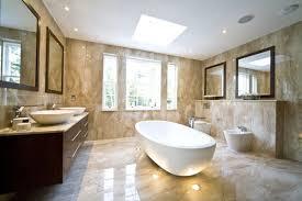hill view modern bathroom interiors creame theme amazing bathroom ideas