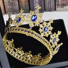 Luxury <b>Crystal Rhinestone Crown</b> Tiara Royal <b>Queen</b> Princess ...