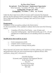 example of cover letter for receptionist   leriq i am stuck on    service receptionist resume s lewesmr  cover letters