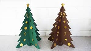 paper christmas tree diy learn how to make the christmas craft paper christmas tree diy learn how to make the christmas craft from template ezycraft