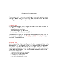 essay film an analytical essay on a film how to write a narrative writing essay