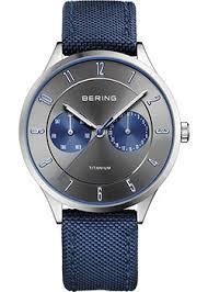 Наручные <b>часы Bering</b> с синим браслетом. Оригиналы ...