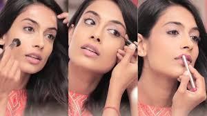 पार्टी मेकअप लुक इन हिंदी | How To Do Easy Party Makeup ...