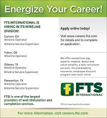 fts international linkedin fts international is hiring in our wireline division