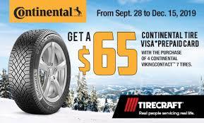 <b>Continental Viking Contact 7</b> Winter Tire - TIRECRAFT