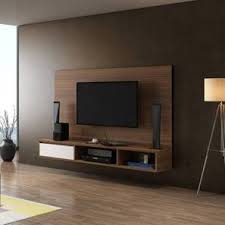 <b>TV Wall Unit</b> & TV Cabinet: Buy Wall Mount TV Stand Online at Best ...