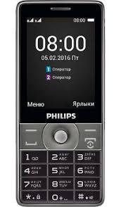 Купить Телефон Philips Xenium E570 <b>Dark Gray</b> по выгодной ...
