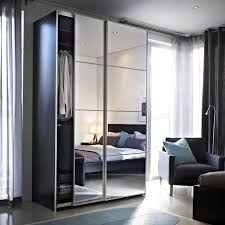 auli portes coulissantes 2 pices miroir wardrobe mirroredikea beautiful ikea closets convention perth contemporary bedroom