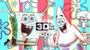 Official <b>3D</b> in the Sea <b>SpongeBob</b> Merchandise | <b>SpongeBob</b> Shop ...