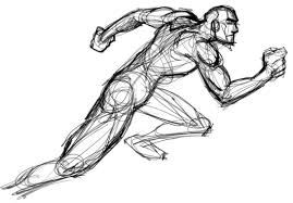 Image result for running drawing pictures