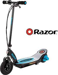 Buy Razor Power Core E100 <b>Electric Scooter</b> - <b>Aluminum</b> Deck - Blue