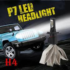 H4 HB2 9003 P <b>7</b> 60W 9600lm <b>LED Headlight Super Bright</b> Slim ...