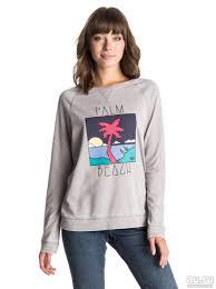 <b>Женский свитшот Roxy</b> ray of light <b>palm</b> лето 2016 — купить в ...
