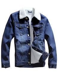 Men Denim Jacket <b>Winter</b> Brushed Sale, Price & Reviews| Gearbest ...