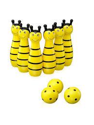"""Деревянная игрушка """"Счастливый случай"""" Wooden Bees Bowling ..."""