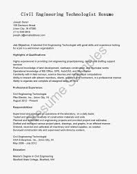 good highlights of qualifications for civil engineer technologist good highlights of qualifications for civil engineer technologist resume template
