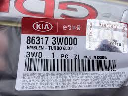 <b>Шильдик</b> T-<b>GDI</b> — KIA Sportage, 2.0 л., 2014 года на DRIVE2