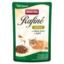 <b>Паучи Animonda Rafine Adult</b> Cat (говядина, гусь, яблоко) 100 г ...