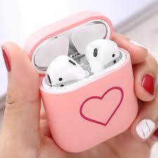 <b>Matte</b> Pattern <b>Hard PC</b> Case For Apple Airpods 2 1 <b>Earphone Matte</b> ...