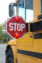 Image result for school bus stop sign