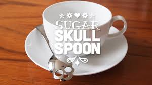 <b>Sugar Skull Spoon</b> by HUNDRED MILLION — Kickstarter