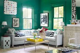 Teal Color Schemes For Living Rooms 20 Best Green Rooms Green Paint Colors And Decor Ideas