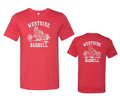 <b>Westside barbell</b> Premium Nitro T-Shirt - Heather Red (Medium) at ...