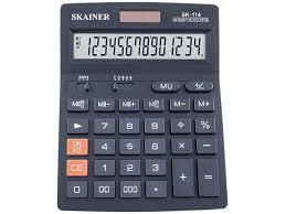 Заказать или купить <b>Калькулятор Skainer</b> Electronic <b>SK</b>-<b>114</b> (14 ...