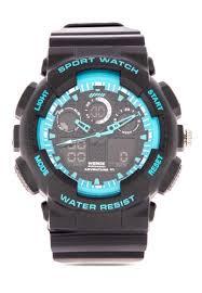 Shop <b>Weide</b> Digi-Ana Watch Wa3J8003-3C-<b>Blue</b> Index Online on ...