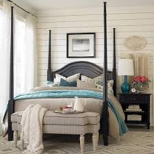 dark furniture light white blue bedding bedding for black furniture