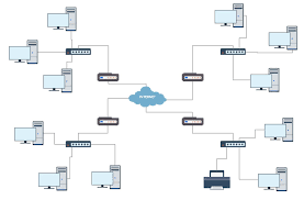 network diagram software to quickly draw network diagrams online    cisco network diagram  professional network diagrams wireless network diagram