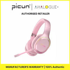 Picun <b>P80S Gaming Headphones</b> Headset Stereo Over Ear ...