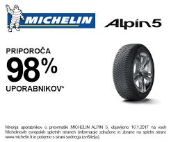<b>Michelin Alpin 5</b> tudi pri nas - Čeplak vulkanizerstvo doo | Facebook