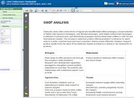 finding a swot analysis business blog a