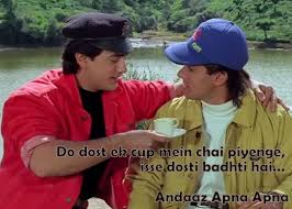 Friendship Dialogues from Bollywood Movies - Chatpata Bollywood via Relatably.com