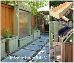 diy patio pond: creatve ideas diy stunning outdoor water wall