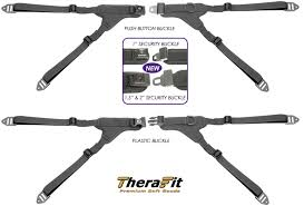 Wheelchair Positioning TheraFit Premium <b>Four</b> Point Hip Belts