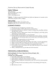 professional customer service supervisor resume objective examples for resumes resume help objective