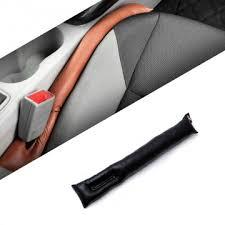 Кожаные <b>вставки</b> для передних сидений черного цвета купить