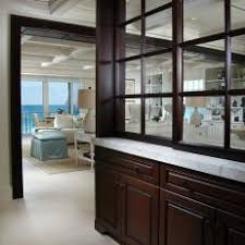 white kitchen windowed partition wall: chocolate brown windowed partition wall dp pineapplehouse cream tropical foyer vjpgjpgrendhgtvcom