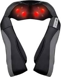 Shiatsu <b>Neck</b> Shoulder <b>Massager</b> for Back with Heat Function ...
