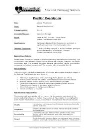job description for front desk receptionist f f info