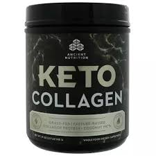 Dr. Axe/Ancient Nutrition Mct Oil <b>Keto Collagen</b>