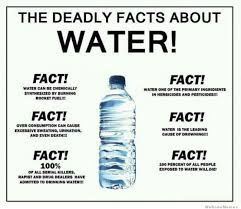 The Deadly Facts About Water! | WeKnowMemes via Relatably.com