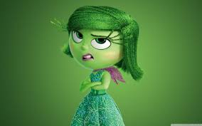Image result for disgust inside out gif