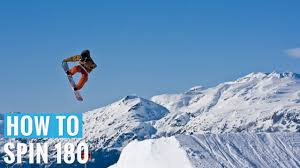 How to <b>180</b> Jump on a Snowboard - (Regular) <b>180 Trick</b> Tip - YouTube