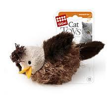 <b>GiGwi Игрушка</b> для кошек <b>Cat Toys</b> Птичка со звуковым чипом, 1 шт.