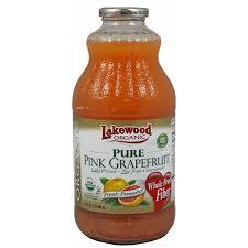 Lakewood Organic <b>Pure</b> Pink Grapefruit (32 fl oz) from <b>Hy</b>-Vee ...