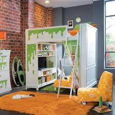 bedroom wonderful loft bed with desk and vanity to make over your kids interior design bedroom black furniture sets loft beds