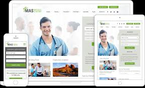 staffing agency wordpress website design freshsparks